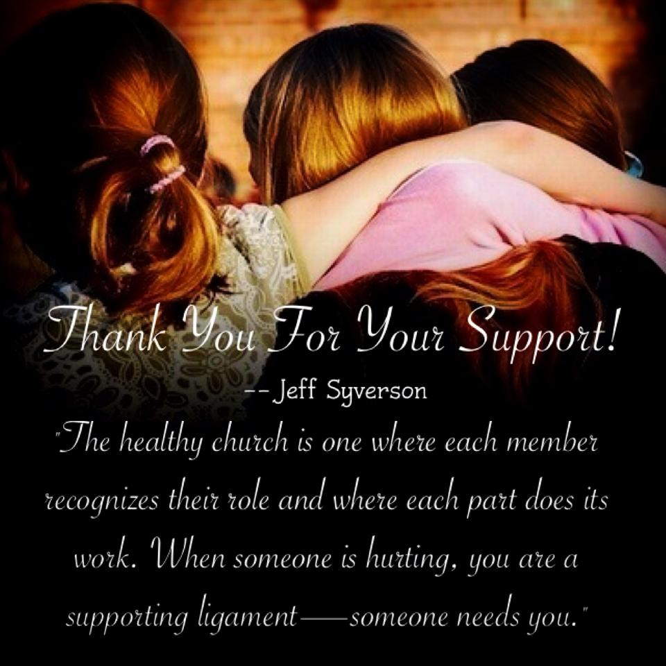 Quotes About Thank You For Support: It's A Beautiful Day In My