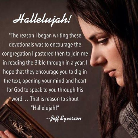 bible reading plan, read the bible, hallelujah,
