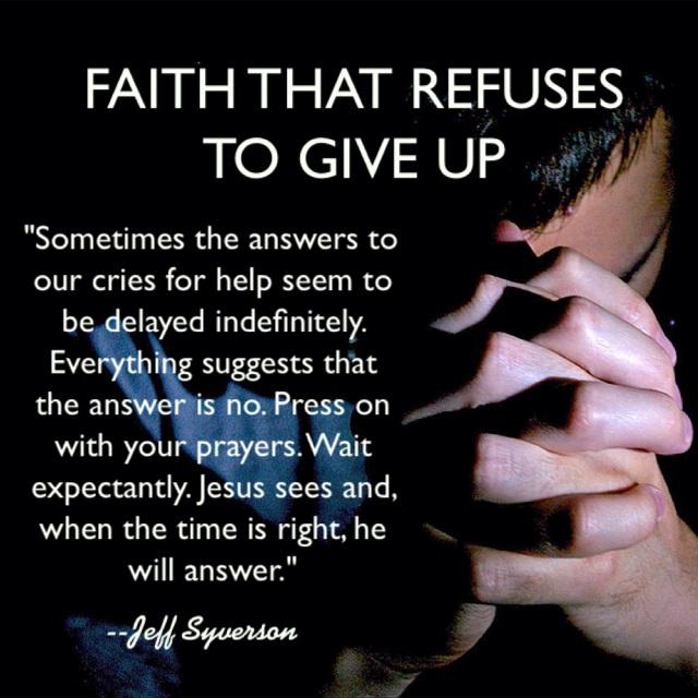 faiththatrefuses