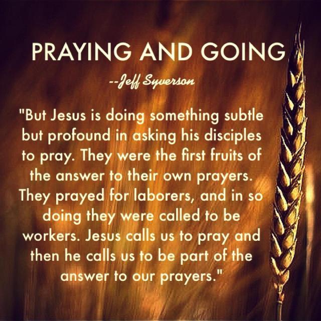 prayingandgoing