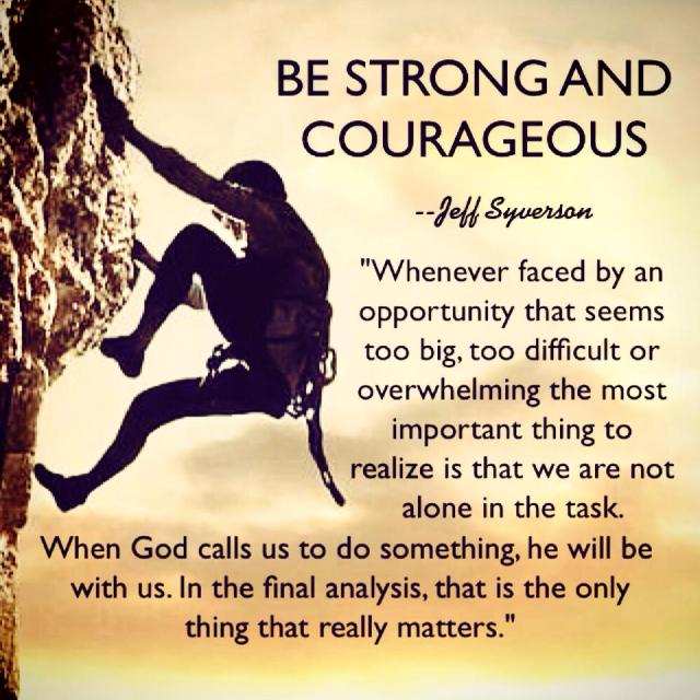 BeStrongandCourageous