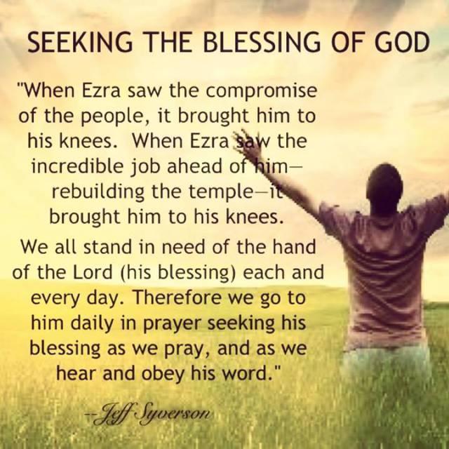 seekingtheblessing