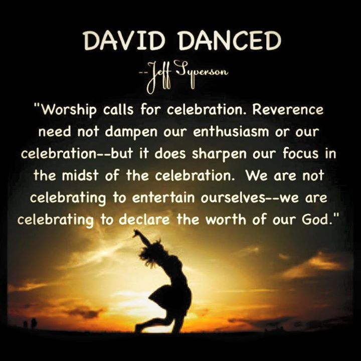 Worship calls for celebration