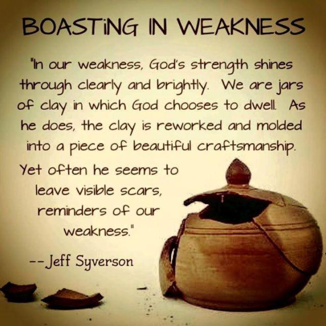 boastinginweakness
